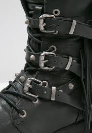 discount biker boots replay margan cowboy biker boots schwarz women ankle boots