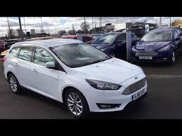 used ford focus tdci used ford focus 1 5 tdci 120 titanium 5dr frozen white 2016