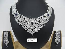silver necklace sets images Silver necklace set at rs 95 gram s chandi ka har set u s jpg