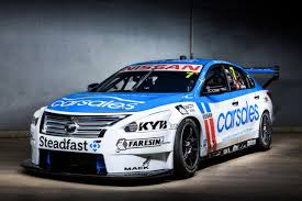 nissan white car motorsport calsonic and and bre livery race again in australia