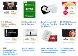 e gift card amc discount hot deals on gift cards regal cold sephora amc