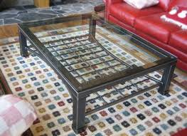 custom glass top for coffee table custom metal coffee tables coffee tables pinterest custom