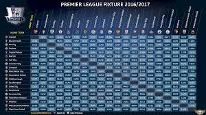 Jadwal Liga Inggris Jadwal Liga Inggris 2016 2017 Liga Inggris