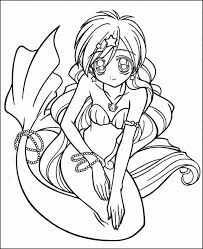 anime coloring pages print funycoloring