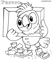 parrot coloring pages coloring pages to download and print
