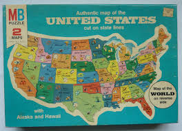 map usa jigsaw vintage milton bradley jigsaw puzzle authentic map of the united