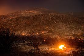 Wildfire Cali by Stunning Photo Sheds Light On Wildfires U0027 Unusual Devastation