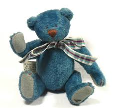 Cottage Collectibles By Ganz by Ganz Bluebeary Bear By Lorraine Chein Cottage Collectibles Jointed