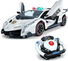 remote control car lights remote control police car 4d motion gravity and steering wheel