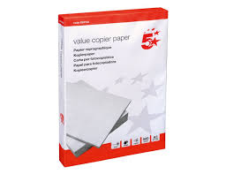 personalised writing paper sets stationery paper amazon co uk 5 star value copier paper multifunctional fsc ream wrapped a3 white 500 sheets
