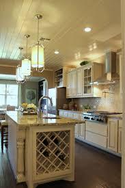 Kitchen Island With Garbage Bin by Kitchen Furniture White Wooden Kitchen Islandh Built In Wine Rack