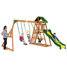 somerset wooden swing set swingsetmall images with awesome