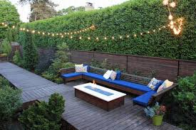 Backyard Patio Lighting Ideas by Hanging Outdoor Patio String Lights Enjoy The Outdoor Patio