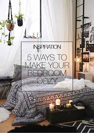 Inspiration  Ways To Make Your Bedroom Cozy MakeMess - Ideas to spice up bedroom