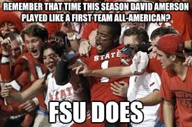 Florida State Memes - florida state football primer photo edition the key play