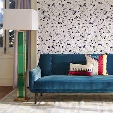 Jonathan Adler Floor L Drip White And Gold Wallpaper Modern Decor Jonathan Adler