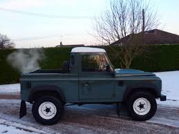 range rover defender pickup used keswick green land rover defender for sale essex