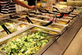 Buffet Salad Bar by Choose Wisely Soup And Salad Bar At Shrine Restaurant Belleville