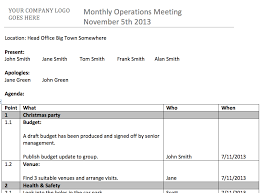 11 one on one meeting agenda template 7 best agenda templates