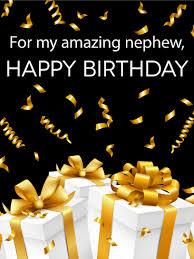 birthday cards for nephew birthday greeting cards for nephew sparkle happy birthday cake for