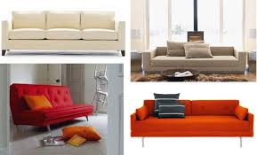 Orange Sofa Bed Best Sleeper Sofas U0026amp Sofa Beds 2010 Apartment Therapy