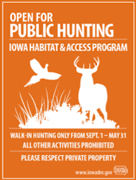 Kansas Walk In Hunting Map Iowa U0027s Ihap Opens Private Lands To Public Hunting Will It Work