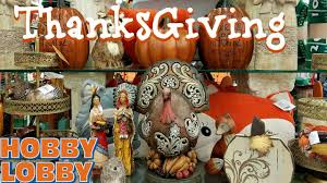 shop with me hobby lobby fall thanksgiving decor 2017