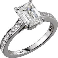 cartier engagement rings crh4209000 1895 solitaire ring platinum diamonds cartier