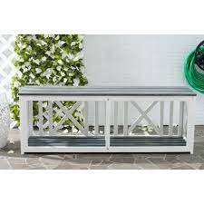 backless bench outdoor exaco endura clay garden curved backless bench hayneedle