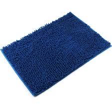 Blue Bath Mat Vdomus Non Slip Microfiber Shag Bath Mat Bathroom Mats Shower Rugs