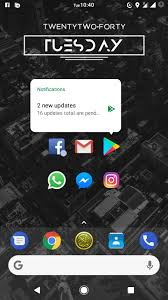 android popup launcher 5 5 beta 3 update adopts docked search bar android