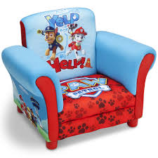 paw patrol chair upholstered kids bedroom toddler furniture dogs