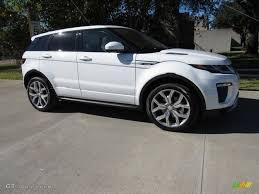 range rover evoque 2017 2017 fuji white land rover range rover evoque autobiography