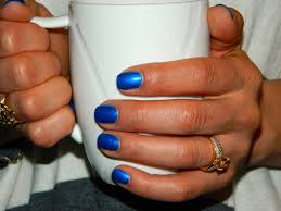 changing it up blue nail polishlatina life and style by paola