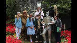 dorothy gale land of oz theme park youtube