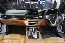 2016 bmw 7 series dashboard at auto expo 2016 indian autos blog