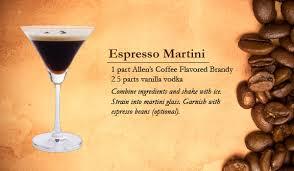 Vodka Martini Recipes That Are Recipes Allen S Coffee Flavored