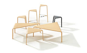 ply curved plywood low table hivemodern com