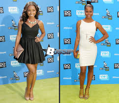 Hit The Floor Cast - taylour paige and logan browning at the vh1 do something awards