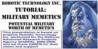 Meme Definitions - robotic technology inc tutorial military memetics part 1