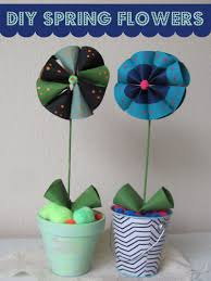 kid craft spring flowers east valley mom guide
