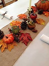 thanksgiving tablecloth napkins and decorative