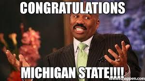 Michigan State Memes - congratulations michigan state meme steve harvey 39438