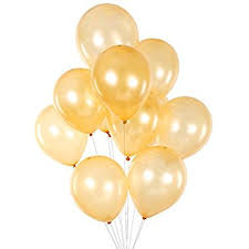 gold balloons mowo 12 gold pearlized balloons 100 per unit