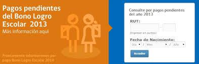 consulta sisoy beneficiaria bono mujer trabajadora 2016 bono logro escolar revisa con tu rut si tienes un cobro atrasado