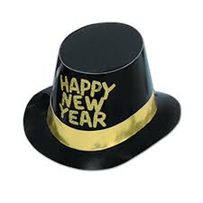 new years party packs black and gold new year s hats tiaras and