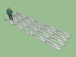 Wood Truss Design Software Free by Truss Plugin Extension Extensions Sketchup Community