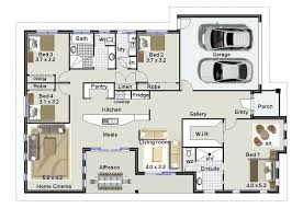 1 4 bedroom house plans best four bedroom house plans floor plans for a 4 bedroom house