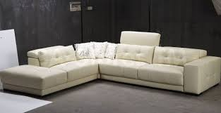 Grey Leather Tufted Sofa Living Room Interior Ideas Furniture Living Room Grey Leather