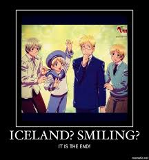 Iceland Meme - demotivational poster iceland smiling by italiavenezianov on